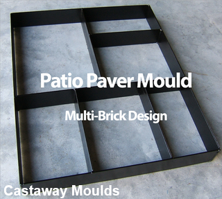 Metal Garden Patio Paver Maker Mould for Concrete Impression