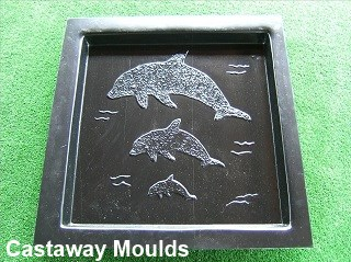 Dolphin Paver Mould
