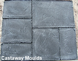 Paver Maker Mould Concrete Impression