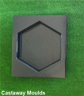 Hexagon Stepping Stone Paver Mould