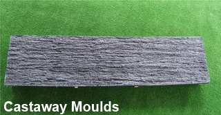 Timber Wood Effect Concrete Roller For Railway Sleeper
