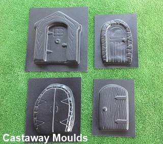 ... Pixie Fairy Door Moulds Set 3 & Pixie \u0026 Fairy Door Mould Collection 3 - Castaway Mouldings ...