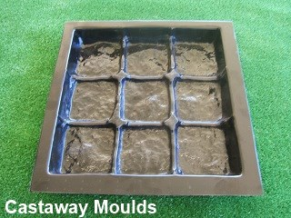 Cobblestone Garden Paver Mould Castaway Mouldings