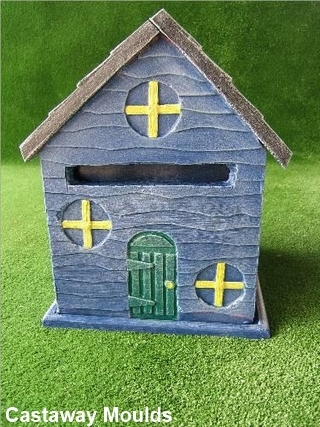 Country Cottage Style Bird House Or Letter Box Mould
