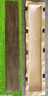 Log Railway Sleeper Mould Castaway Mouldings Amp Designs
