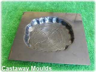 Log Stepping Stone Mould Castaway Mouldings Amp Designs Store