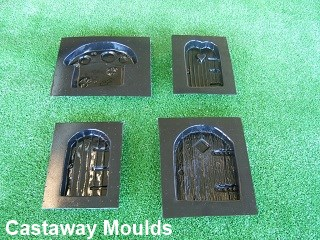 pixie and fairy door moulds & Pixie u0026 Fairy Door Mould Collection 1 - Elves Goblins - Castaway ...